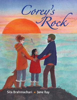 Cover for Corey's Rock by Sita Brahmachari