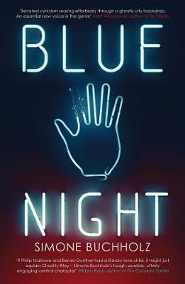 Cover for Blue Night by Simone Buchholz