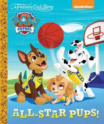 A Treasure Cove Story - Paw Patrol - All Star Pups! by Centum Books Ltd