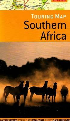 Touring Map of Southern Africa 2nd Edition by Jonathan Ball Publishers, John Hall