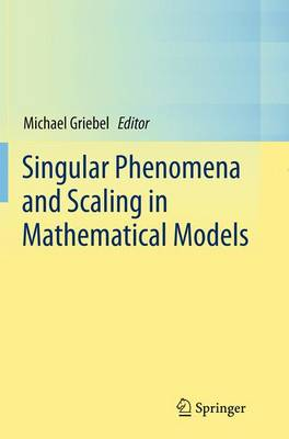 Singular Phenomena and Scaling in Mathematical Models by Michael Griebel