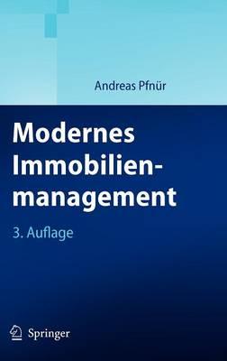 Modernes Immobilienmanagement by Springer