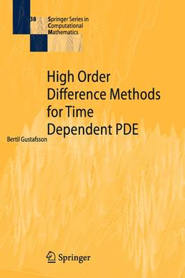 High Order Difference Methods for Time Dependent PDE by Bertil Gustafsson