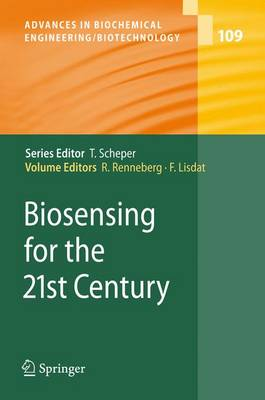 Biosensing for the 21st Century by Fred Lisdat