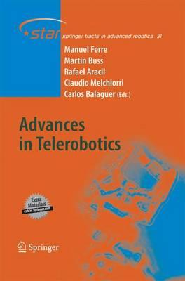 Advances in Telerobotics by Manuel Ferre