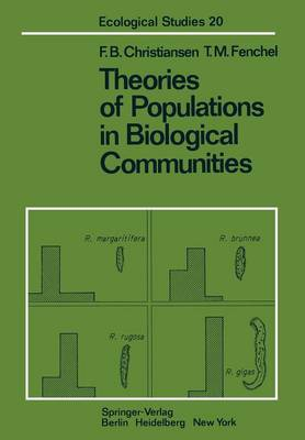 Theories of Populations in Biological Communities by Freddy Bugge Christiansen, T. M. Fenchel