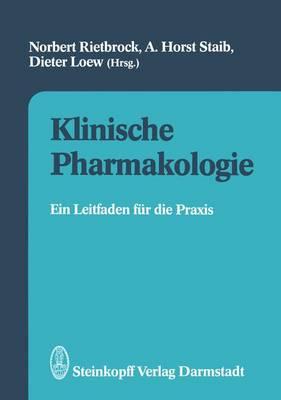 Klinische Pharmakologie by Norbert Rietbrock