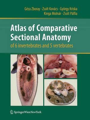 Atlas of Comparative Sectional Anatomy of 6 invertebrates and 5 vertebrates by Geza Zboray, Zsolt Kovacs, Gyorgy Kriska, Kinga Molnar