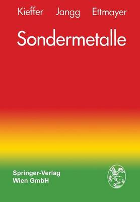 Sondermetalle by Richard Kieffer