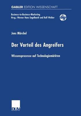 Der Vorteil des Angreifers by Jens Morchel