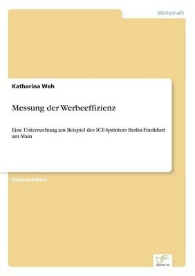 Messung Der Werbeeffizienz by Katharina Weh