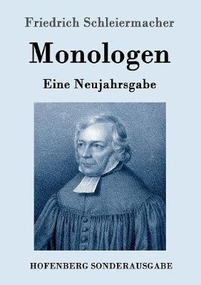 Monologen by Friedrich Schleiermacher