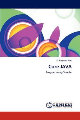 Core Java by K Raghava Rao