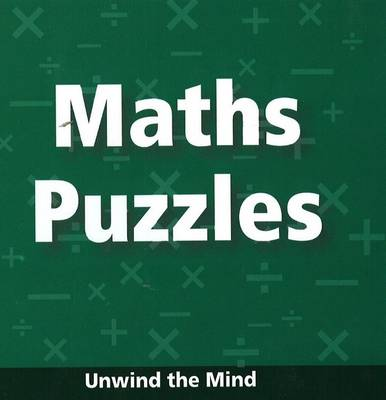 Maths Puzzles Unwind the Mind by B Jain Publishing