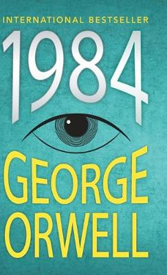 Cover for 1984 by George Orwell