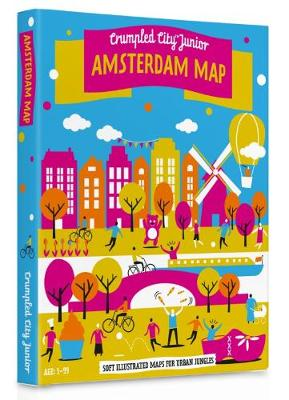 Junior Amsterdam Crumpled City Map by Palomar