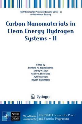 Carbon Nanomaterials in Clean Energy Hydrogen Systems - II by Svetlana Yu. (Institute of Hydrogen and Solar Energy, Kiev, Ukraine) Zaginaichenko