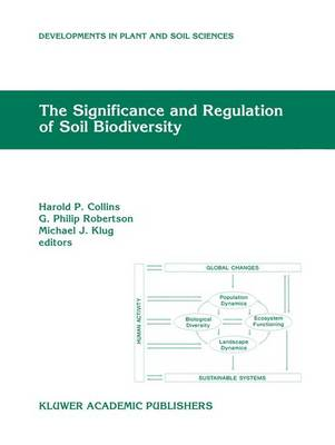 The Significance and Regulation of Soil Biodiversity Proceedings of the International Symposium on Soil Biodiversity, held at Michigan State University, East Lansing, May 3-6, 1993 by Harold P. Collins