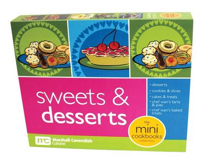 SWEETS & DESSERTS Mini Cookbooks Boxed Set by