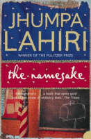Cover for The Namesake by Jhumpa Lahiri