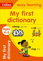 My First Dictionary Ages 4-5 by Collins Easy Learning