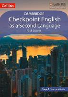 Cambridge Checkpoint English as a Second Language Teacher Guide Stage 7 by Nick Coates