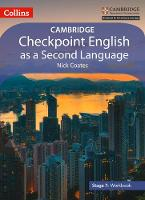 Cambridge Checkpoint English as a Second Language Workbook Stage 7 by Nick Coates