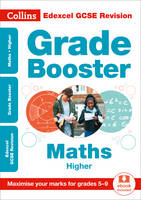 Edexcel GCSE Maths Higher Grade Booster for grades 5-9 by Collins GCSE