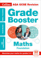 AQA GCSE Maths Foundation Grade Booster for grades 3-5 by Collins GCSE