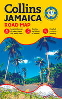 Jamaica Road Map by National Land Agency