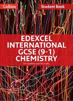 Edexcel International GCSE (9-1) Chemistry Student Book by