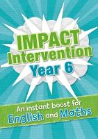 Year 6 Impact Intervention by