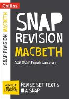 Macbeth: AQA GCSE English Literature Text Guide by Collins GCSE