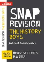 The History Boys: AQA GCSE English Literature Text Guide by Collins GCSE
