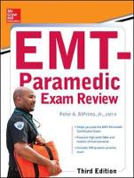 McGraw-Hill Education's EMT-Paramedic Exam Review, Third Edition by Peter A., Jr. DiPrima