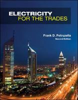 Electricity for the Trades by Frank D. Petruzella