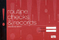 Health & Safety: Routine Checks and Records The Incident Book by The Stationery Office