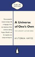 A Universe of One's Own by Antonia Hayes