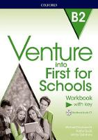 Venture First for Schools B2 Workbook with Key Pack by