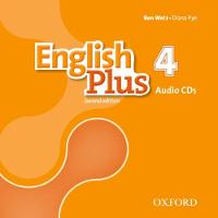 English Plus: Level 4: Class Audio CDs by