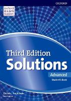 Solutions 3e Advanced Students Book Pack Component by