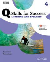 Q Skills for Success: Level 4: Listening & Speaking Student Book with IQ Online by
