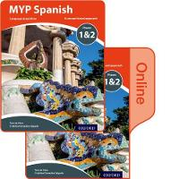 MYP Spanish Language Acquisition Phases 1&2 Print and Online Pack by Terri Bakker, Cristobal Gonzalez Salgado