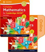Complete Mathematics for Cambridge IGCSE (R) Print & Online Student Book (Core) by David Rayner