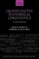 Quantitative Historical Linguistics A Corpus Framework by Gard B. Jenset