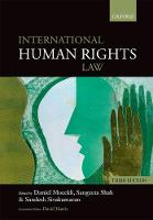 International Human Rights Law by Daniel (Assistant Professor for International Law and State Law, University of Zurich) Moeckli
