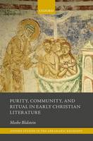 Purity, Community, and Ritual in Early Christian Literature by Moshe Blidstein