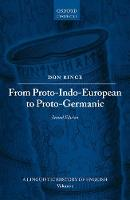 From Proto-Indo-European to Proto-Germanic by Don Ringe