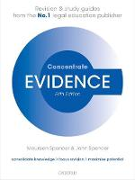 Evidence Concentrate Law Revision and Study Guide by