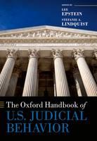 The Oxford Handbook of U.S. Judicial Behavior by Lee Epstein